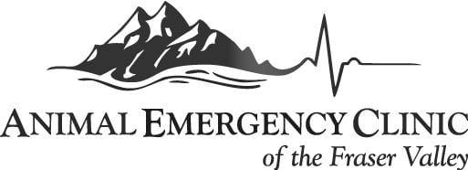 Animal Emergency Clinic of the Fraser Valley Logo Black & White