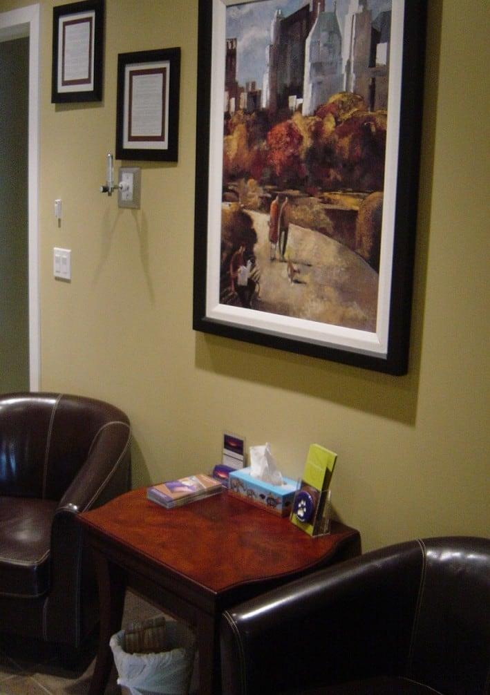 Comforting Room at Boundary Bay Veterinary Specialty Hospital